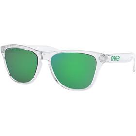 Oakley Frogskins XS Gafas de Sol Jóvenes, transparente/verde